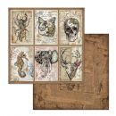 Stamperia - Antonis Tzanidakis - Mechanical Fantasy Collection -  Mechanical Fantasy Cards 12 x 12